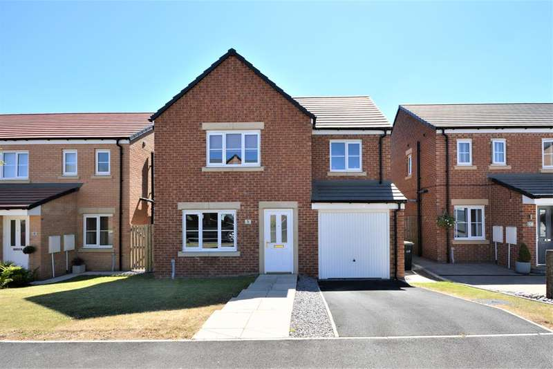 4 Bedrooms Detached House for sale in Adams Court, Shildon, DL4 2GA