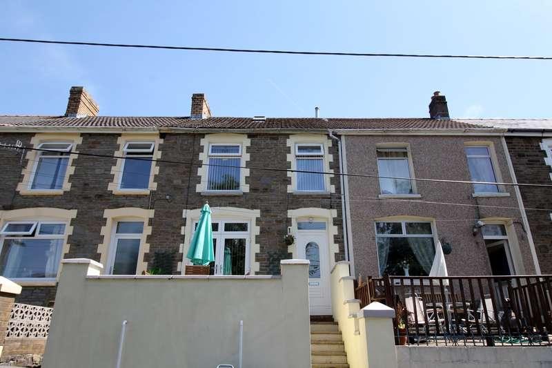 3 Bedrooms Terraced House for sale in Hillside Terrace, Waunlwyd, Ebbw Vale, NP23