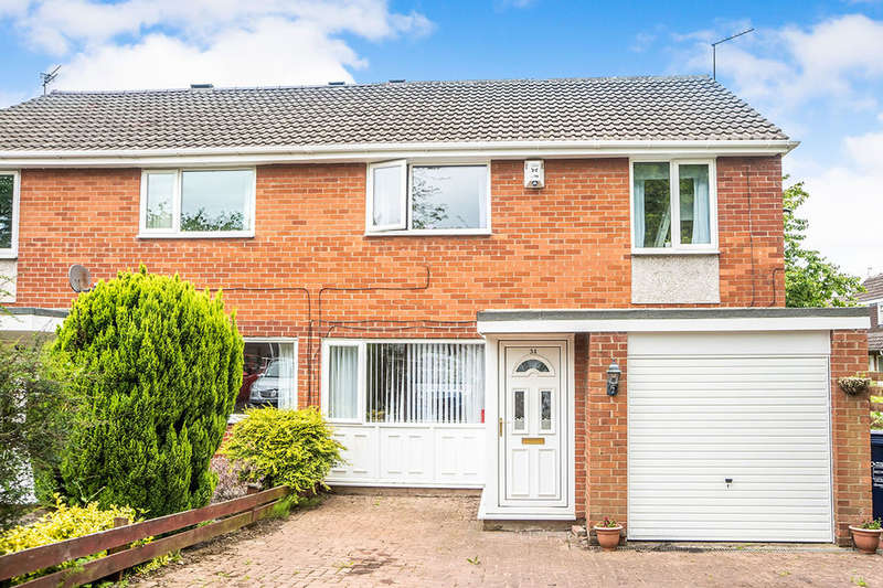 3 Bedrooms Semi Detached House for sale in Ascot Court, Newcastle Upon Tyne, NE3