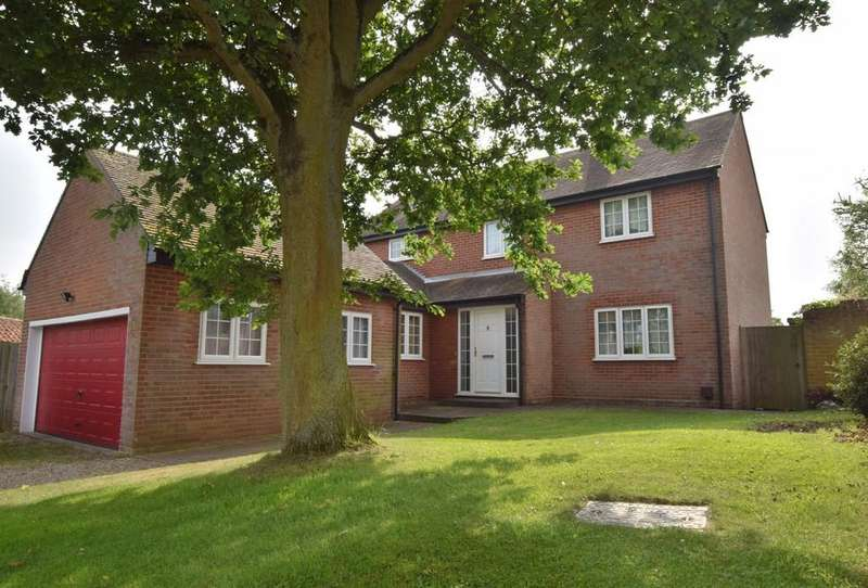 4 Bedrooms Detached House for sale in West Bergholt, Colchester, CO6 3BP