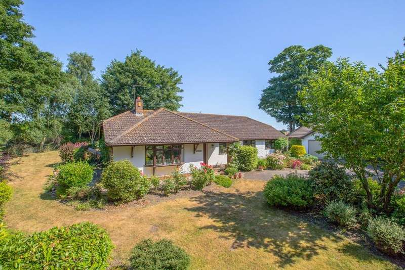 4 Bedrooms Detached Bungalow for sale in Sowton Village, Exeter