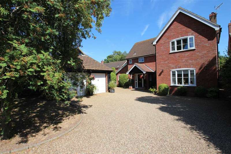 4 Bedrooms Detached House for sale in Digby Close, Martlesham Heath, Ipswich