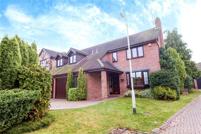 5 Bedrooms Detached House for sale in Church Hams, Finchampstead, Wokingham, Berkshire, RG40