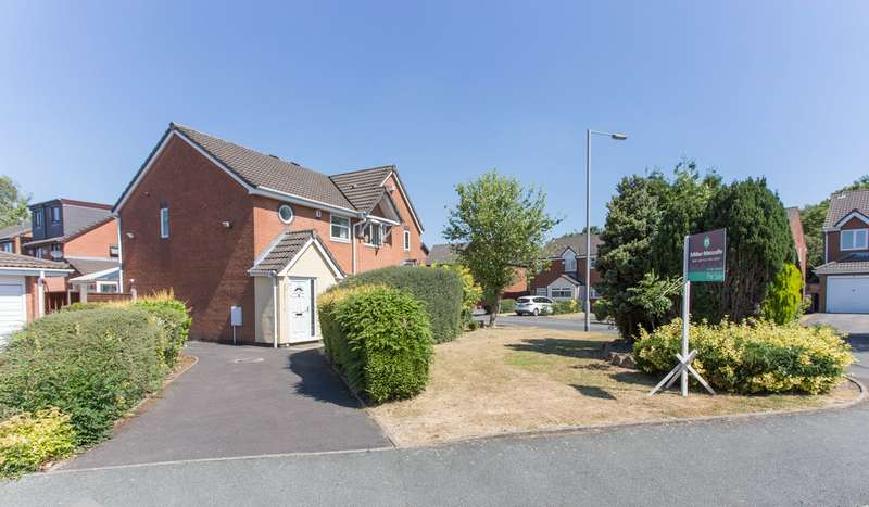2 Bedrooms Semi Detached House for sale in Boundary Drive, Bradley Fold, Bolton, BL2