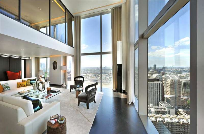 4 Bedrooms Penthouse Flat for sale in The Heron, 5 Moore Lane, London, EC2Y