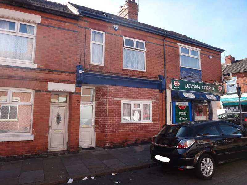 3 Bedrooms Terraced House for sale in Lyme Road, Off Evington Road, Leicester