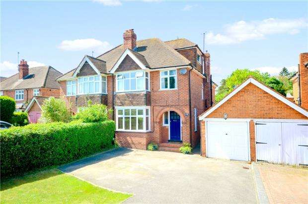 4 Bedrooms Semi Detached House for sale in Henley Road, Caversham, Reading