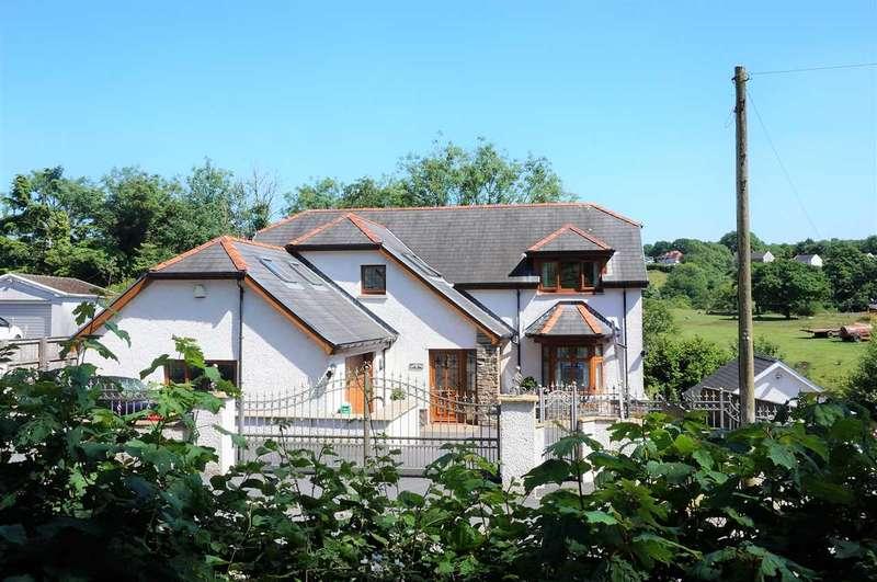 5 Bedrooms Detached Bungalow for sale in Llys Yr Afon, 95 Heol Cwmmawr, Drefach, Llanelli