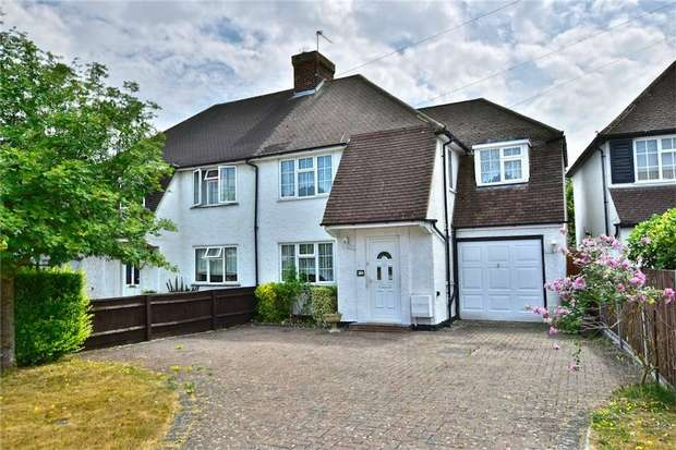 4 Bedrooms Semi Detached House for sale in Longstone Road, Iver Heath, Buckinghamshire