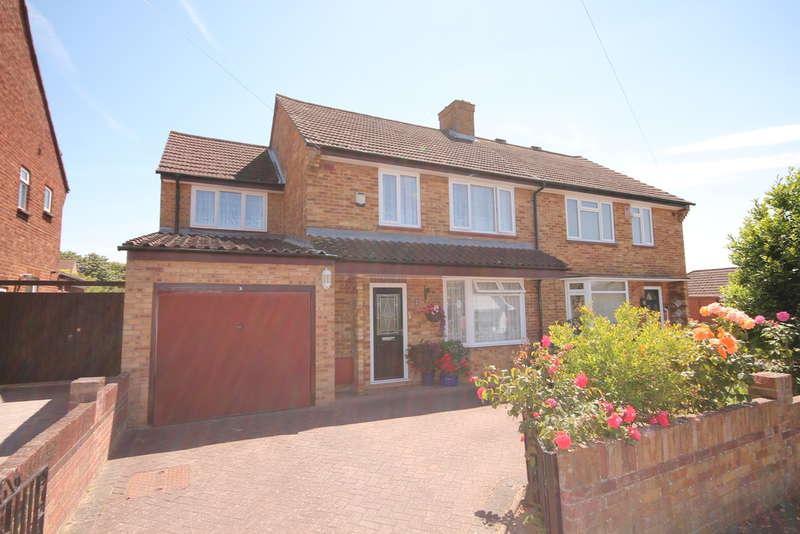 5 Bedrooms Semi Detached House for sale in Arrow Leys, Putnoe, MK41
