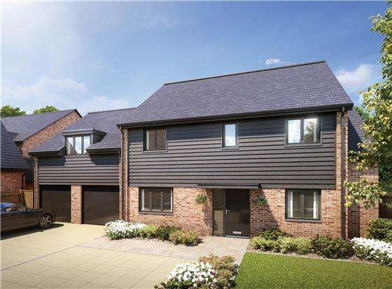 5 Bedrooms Detached House for sale in Plot 3, Orwell Gardens, Sutton Courtenay, OX14 4BT