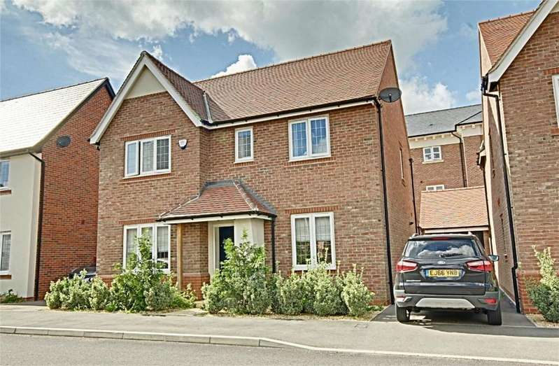 4 Bedrooms Detached House for sale in Terlings Avenue, Gilston, Harlow, Hertfordshire