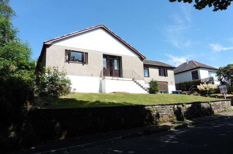 4 Bedrooms Detached Bungalow for sale in 104 Ardenslate Road, Dunoon, PA23 8HX