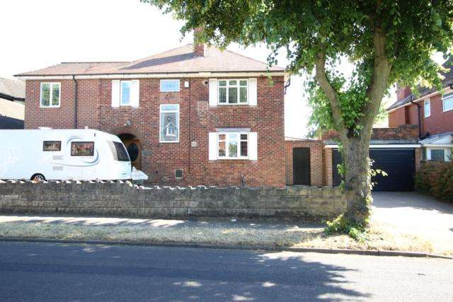 4 Bedrooms Detached House for sale in Rosegarth 12 Shepherds Avenue Worksop