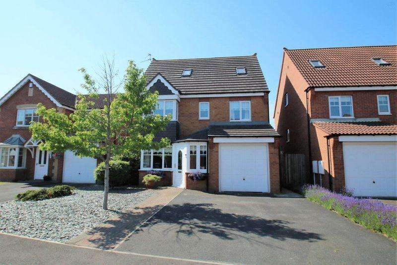 5 Bedrooms Detached House for sale in Meridian Way, Bramley Green, Stockton, TS18 4QH