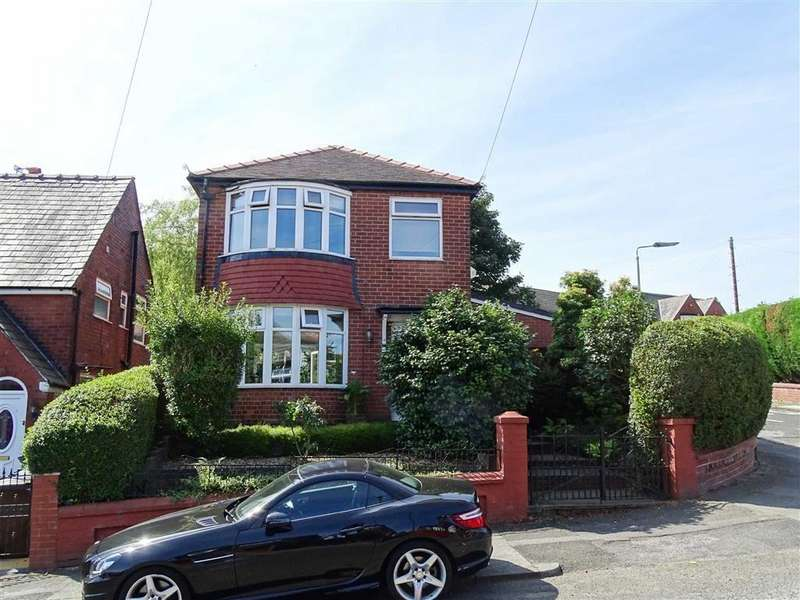 3 Bedrooms Detached House for sale in Venwood Road, Prestwich, Prestwich Manchester
