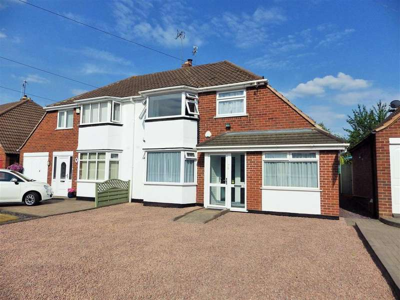 3 Bedrooms Semi Detached House for sale in Dunstall Road, Halesowen