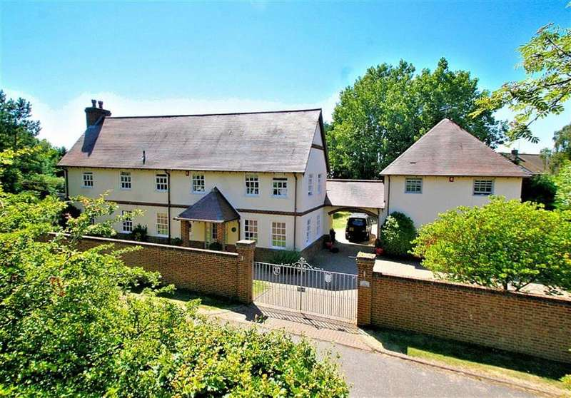 5 Bedrooms Detached House for sale in Fallow End, Pottersheath Road, Welwyn, AL6 9ST