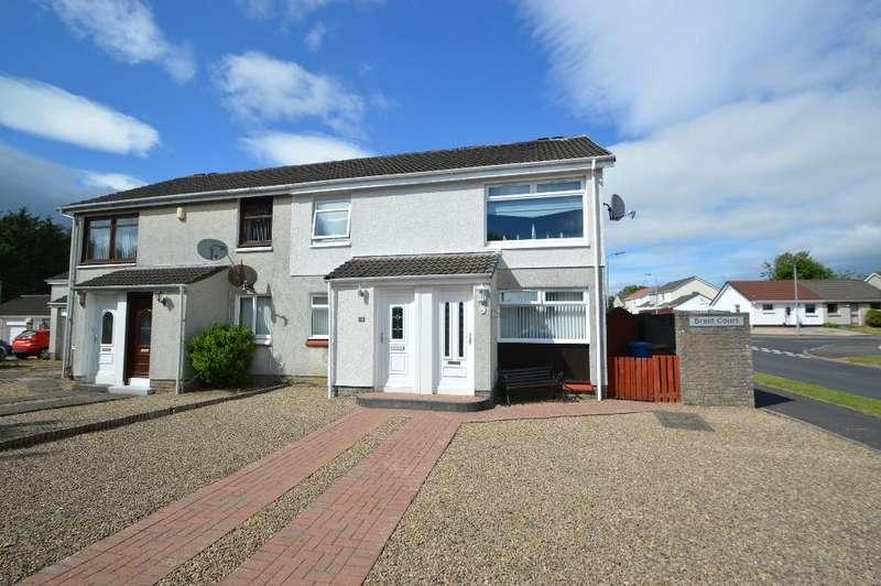 2 Bedrooms Flat for sale in Braid Court, Kilwinning, North Ayrshire, KA13 6QX