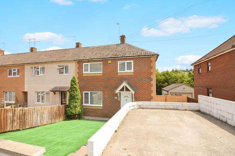 3 Bedrooms End Of Terrace House for sale in Stillman Close, Bristol