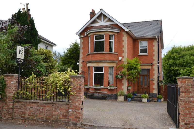 4 Bedrooms Detached House for sale in Leckhampton Road, Cheltenham, Gloucestershire, GL53