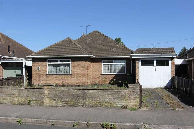2 Bedrooms Detached Bungalow for sale in Alfreton Road, Wigston, Leicestershire