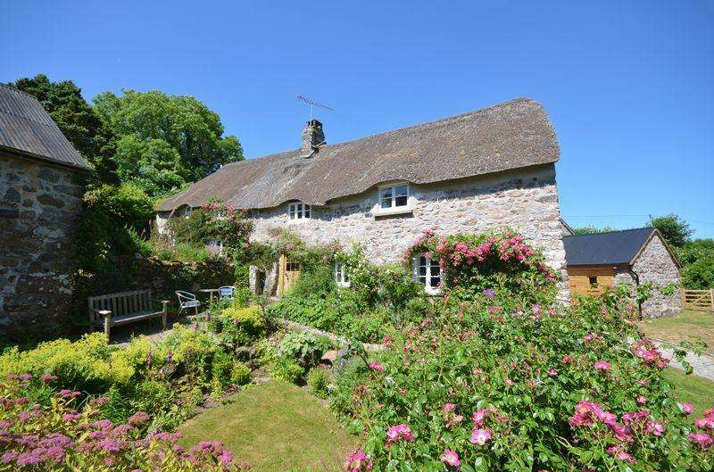 3 Bedrooms Detached House for sale in Collihole Cottage, Chagford