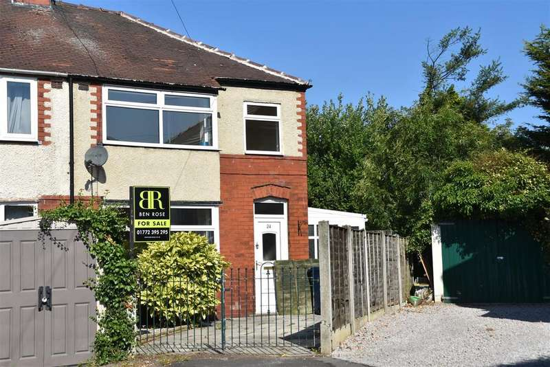 3 Bedrooms End Of Terrace House for sale in Westwood Road, Leyland