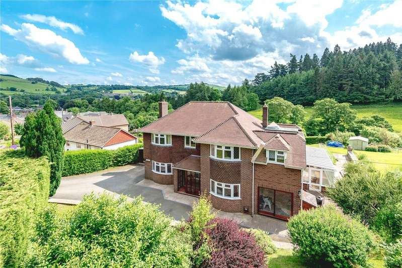 6 Bedrooms Detached House for sale in Van Road, Llanidloes, Powys