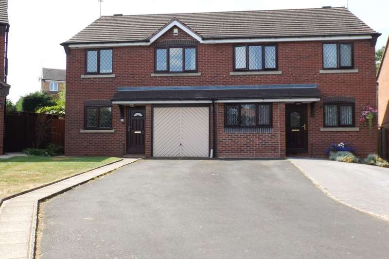 3 Bedrooms Semi Detached House for sale in Millhams Avenue, Lyppard Woodgreen, Worcester, WR4