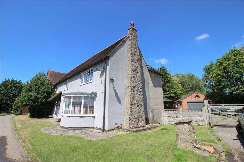 5 Bedrooms Detached House for sale in Hopwell Nook, Ockbrook, Derby, DE72