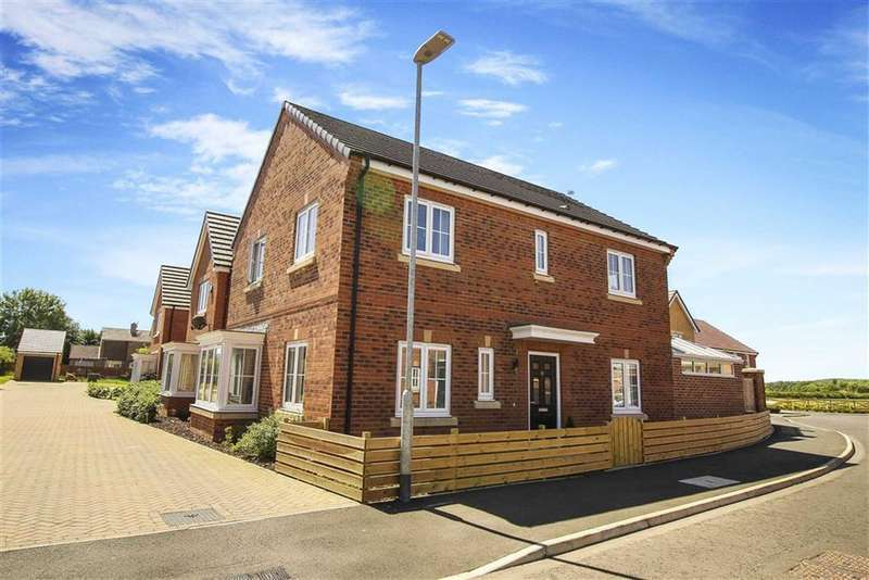 4 Bedrooms Detached House for sale in St Nicholas Drive, Bedlington, Northumberland
