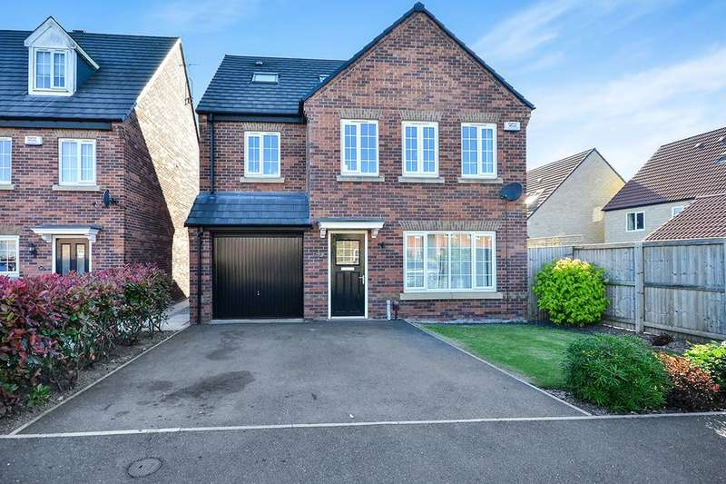 4 Bedrooms Detached House for sale in Knitters Road, South Normanton, Alfreton, DE55