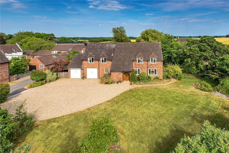 4 Bedrooms Detached House for sale in Strathmore, Mill Lane, Kemberton, Shifnal, Shropshire, TF11