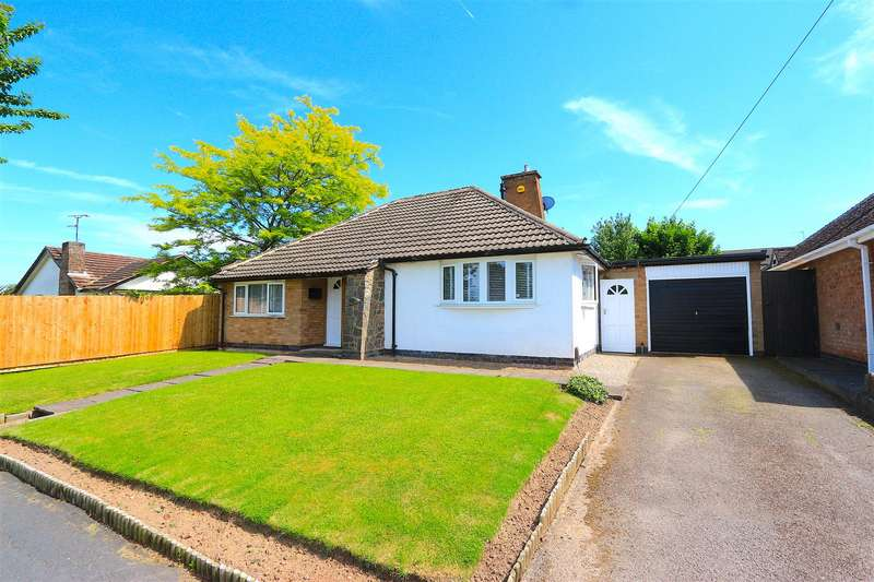 2 Bedrooms Bungalow for sale in Barry Drive, Kirby Muxloe