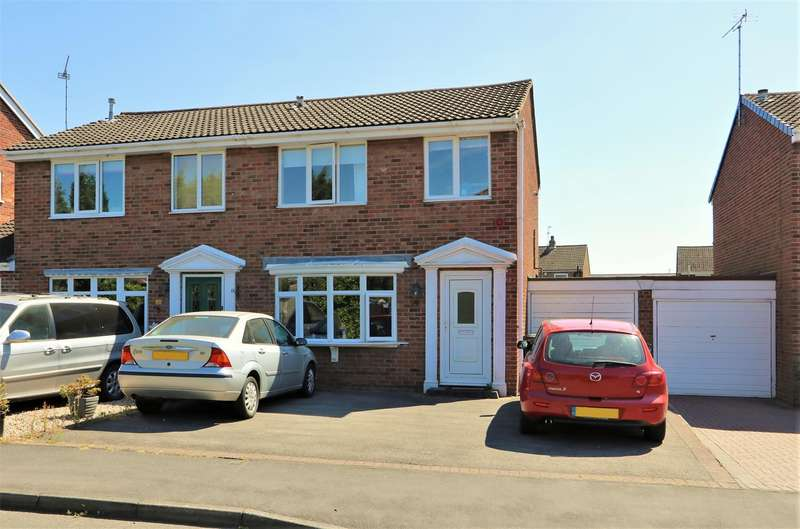 3 Bedrooms Detached House for sale in Canterbury Drive, Ashby-De-La-Zouch, ...