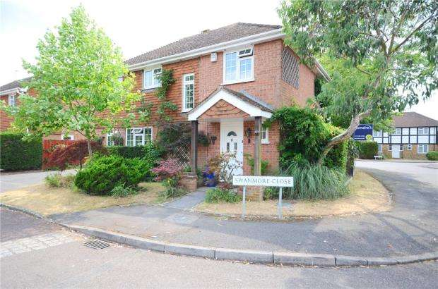 4 Bedrooms Detached House for sale in Swanmore Close, Lower Earley, Reading