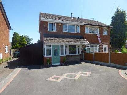 3 Bedrooms Semi Detached House for sale in Buckingham Road, Rowley Regis, West Midlands