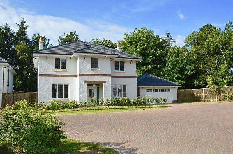 5 Bedrooms Detached House for sale in Braemore Wood, Troon