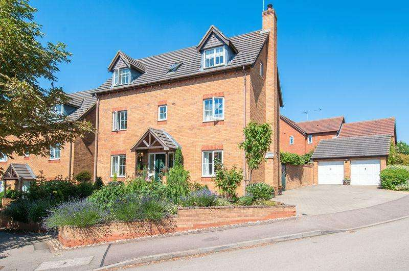 5 Bedrooms Detached House for sale in Grasmere Way, Higham Ferrers