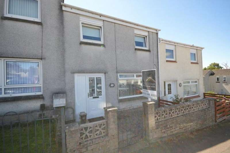 3 Bedrooms Terraced House for sale in Redburn, Bonhill, Alexandria G83 9BT