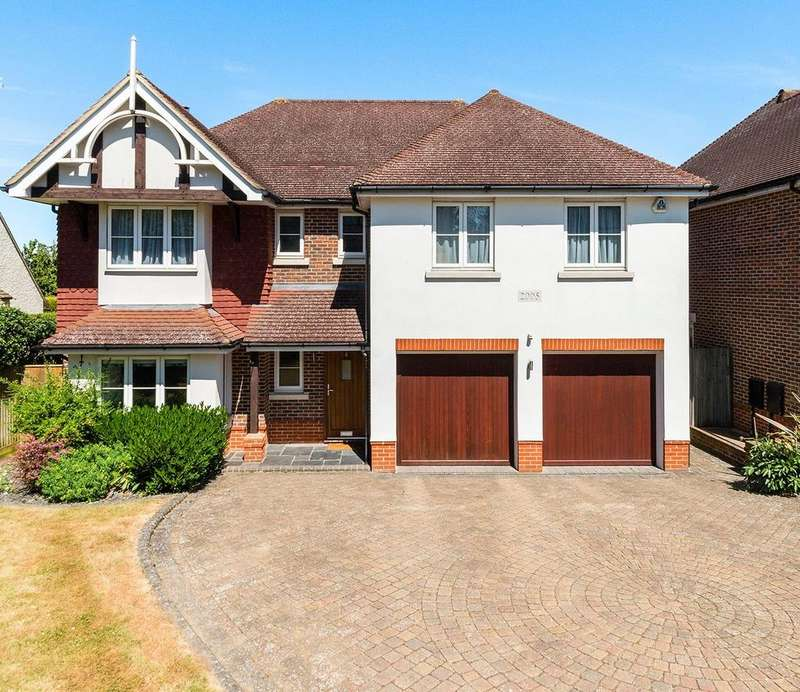5 Bedrooms Detached House for sale in Tumblewood Road, Banstead, SM7