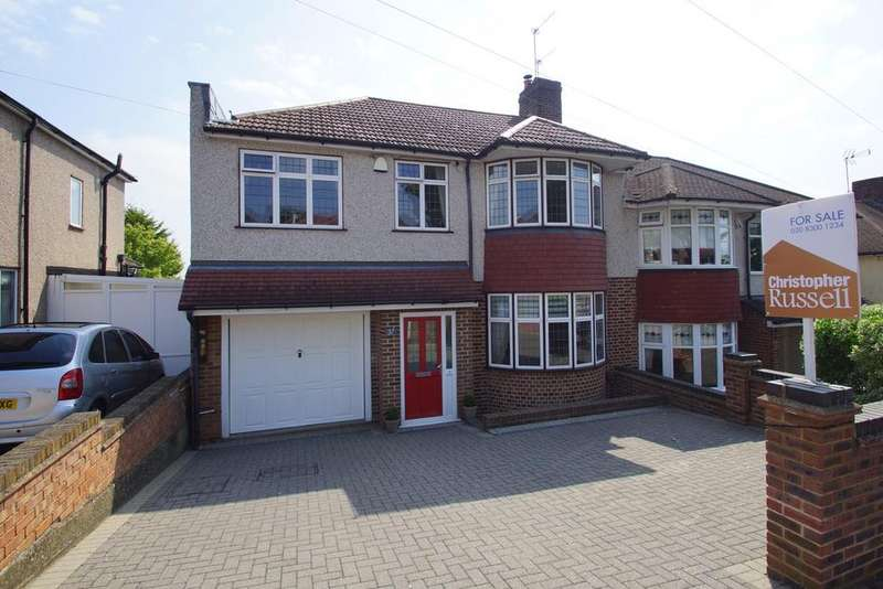 4 Bedrooms Semi Detached House for sale in Kimberley Drive, Sidcup, DA14