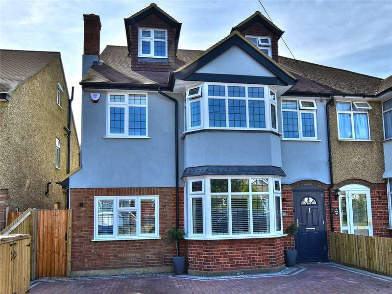 5 Bedrooms Semi Detached House for sale in Frankland Road, Croxley Green, Hertfordshire, WD3
