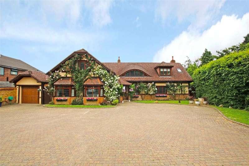 6 Bedrooms Detached House for sale in Lyne Lane, Lyne, Chertsey, Surrey, KT16