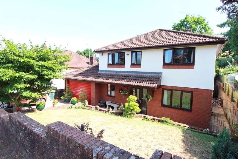 4 Bedrooms Detached House for sale in Brooklea, Caerleon, Newport, NP18