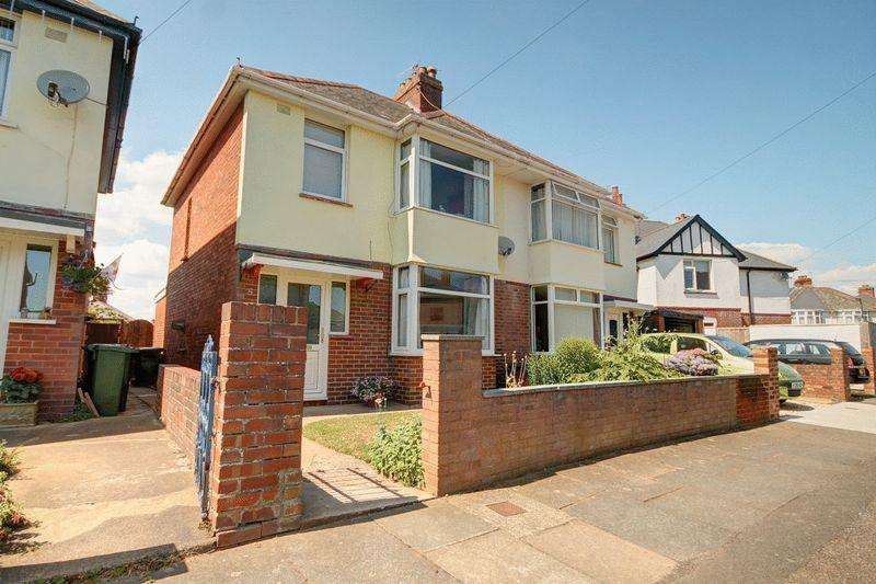 3 Bedrooms Semi Detached House for sale in Ashwood Road, St Thomas, Exeter