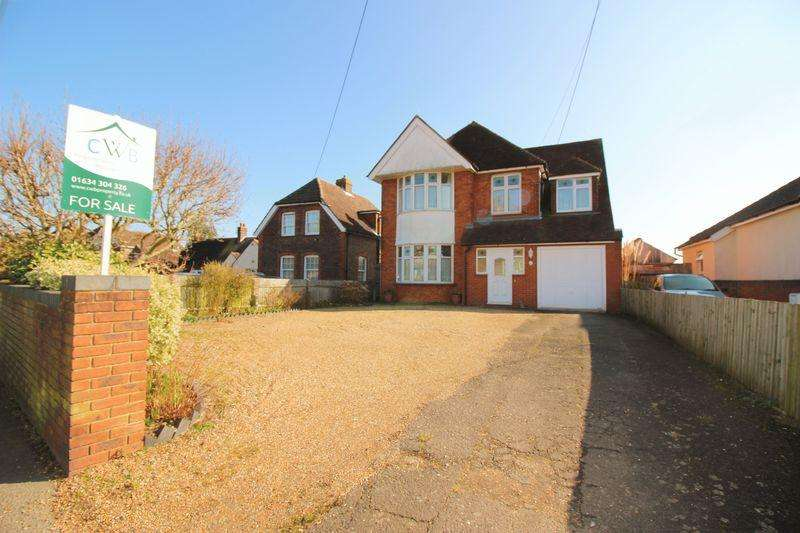 4 Bedrooms Detached House for sale in Birling Road, Snodland