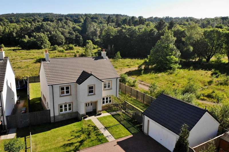 5 Bedrooms Detached House for sale in 5 Rowanberry Court, Campsie Village, Lennoxtown, East Dunbartonshire, G66 7BF