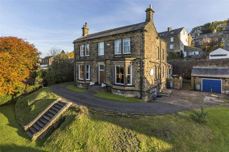 4 Bedrooms Detached House for sale in Wellfield House, Low Spring Road, THWAITES BROW, West Yorkshire, BD21